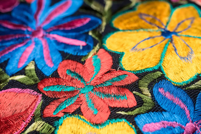 Traditional mexican textiles